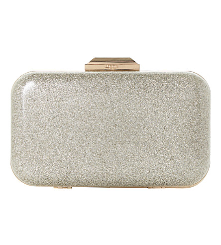 DUNE Beverlie clutch bag (Gold-patent
