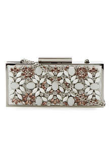 DUNE Ecasey jewelled clutch bag