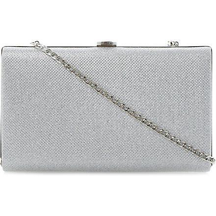 DUNE Burex metallic clutch (Silver-synthetic