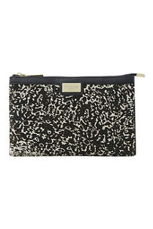 DUNE Eboomiez double-pouch clutch