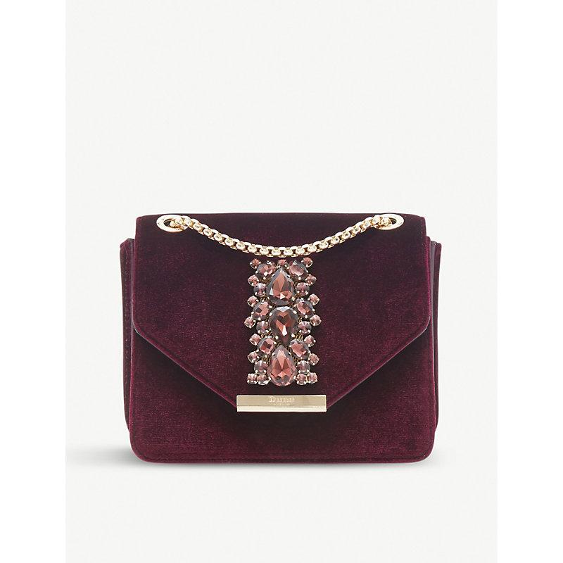 DUNE Everlie diamante-embellished shoulder bag