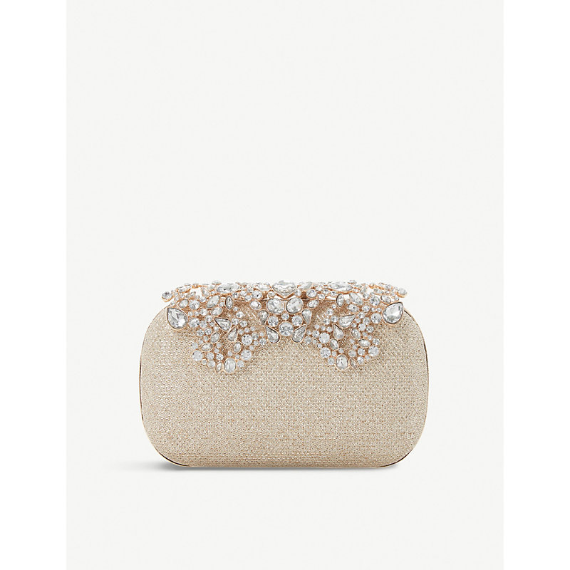 Estella embellished clutch