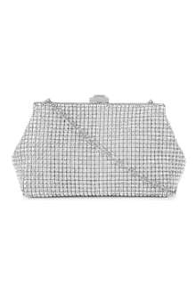 DUNE Mling diamante clutch