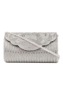 DUNE Egical beaded clutch