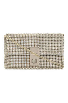 DUNE Eliza diamanté clutch