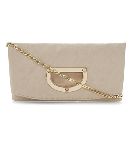 DUNE Elite clutch bag (Nude-synthetic