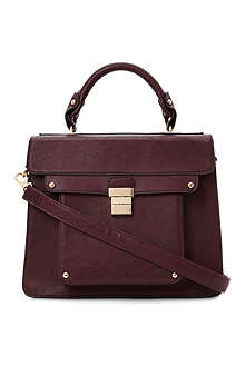 DUNE Datchel Datchel faux-leather satchel