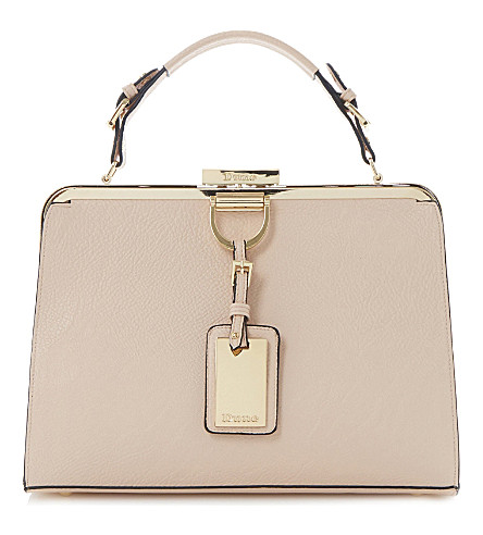 DUNE Dalley faux-leather tote (Pink-synthetic