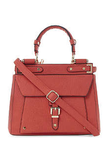 DUNE Doven buckle detail structured handbag
