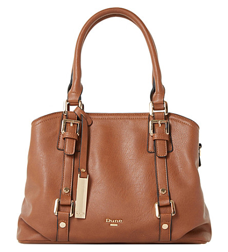 DUNE Dannah tote handbag (Tan-synthetic