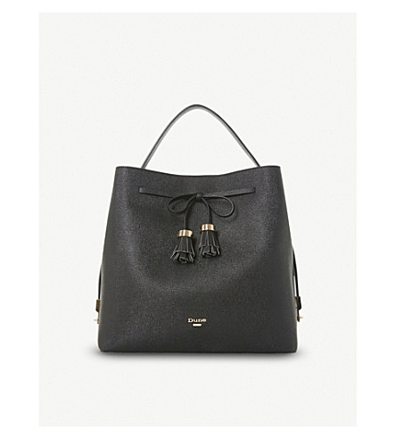 DUNE Dess bow-detail bag (Black-synthetic