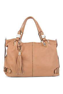 DUNE Dracilla leather tote