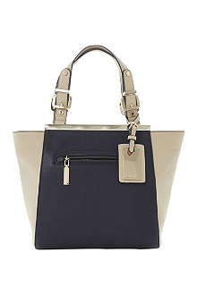DUNE Deewinged faux-leather tote