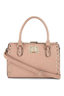 DUNE Dyramid faux leather tote