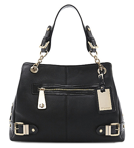Daycon leather hobo (Black-synthetic