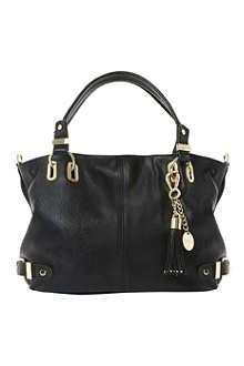 DUNE Deather tassel-detail shoulder bag