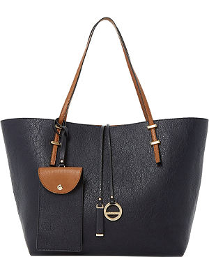 DUNE Dominique colour-block shopper bag