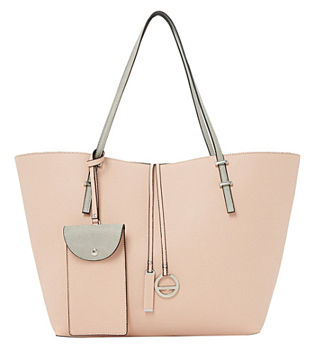DUNE Dominique colour-block shopper bag (Pink-synthetic