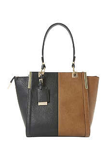 DUNE Dancer colour-block trapeze tote