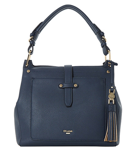 DUNE Dauna handbag (Navy-plain+synthetic