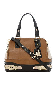 DUNE Faux leather colour block bag