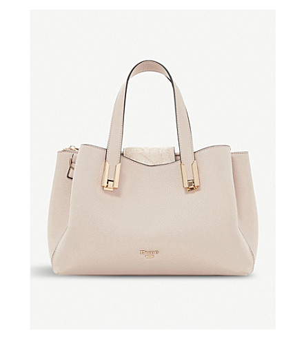 DUNE Decci faux-leather tote bag (Blush-synthetic