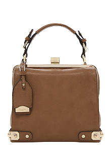 DUNE Doblong leather-effect frame tote