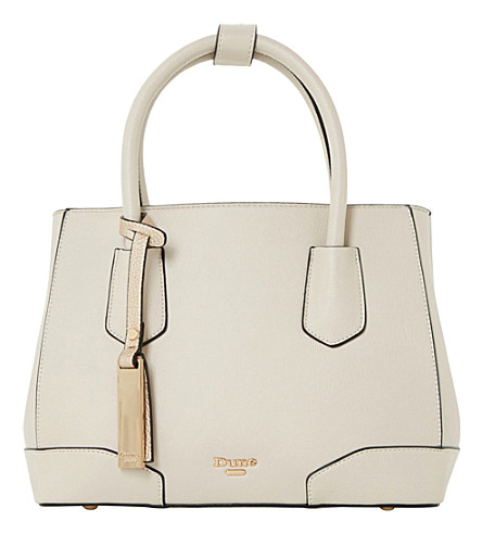 DUNE Dipley tote bag (Cream-synthetic