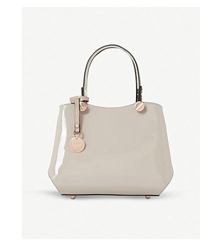 DUNE Dinidimogen mini handbag (Taupe-patent
