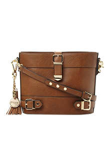 DUNE Buckle detail cross-body bag