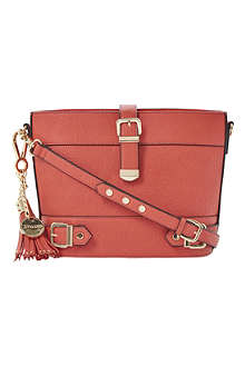 DUNE Dyla faux-leather cross-body bag
