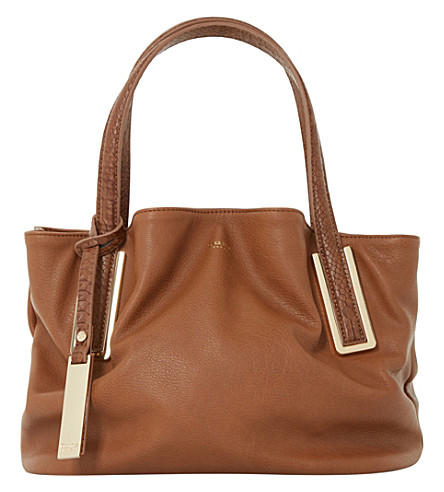 DUNE Dolliss slouchy bag (Tan-plain+pu