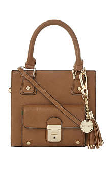 DUNE Dinky faux-leather tote