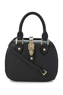 DUNE Dinidintage faux-leather bowler bag