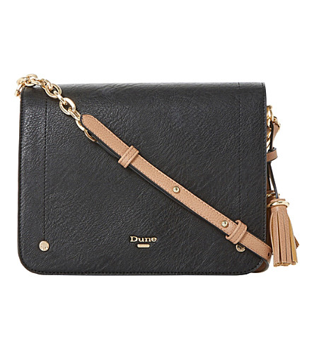 DUNE Daschie cross body bag (Black-synthetic