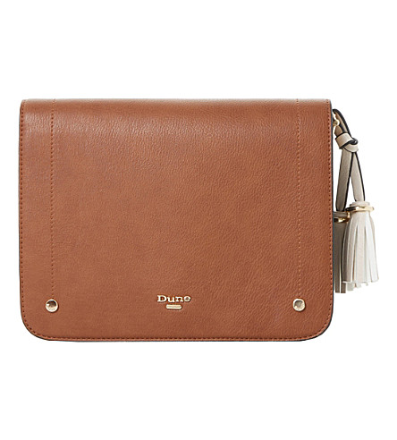 DUNE Daschie cross body bag (Tan-synthetic