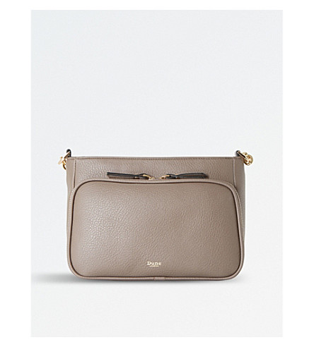 DUNE Dorrea cross-body bag (Grey-synthetic