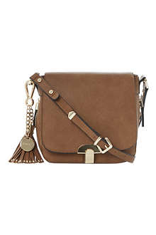 DUNE Dushroom tassel-trim saddle bag