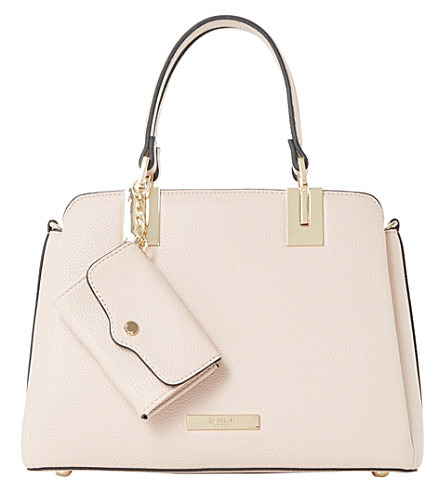 DUNE Dinidillier faux-leather shoulder bag (Blush-synthetic