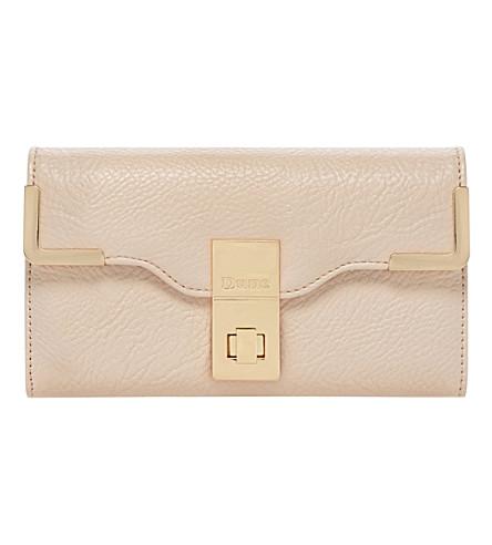 DUNE Korners turn lock wallet (Pink-synthetic