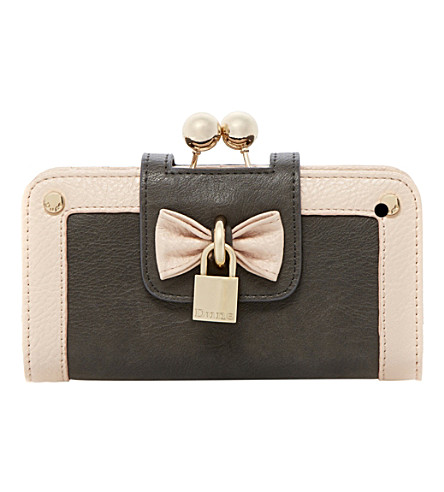 DUNE Klipbow purse (Grey-synthetic