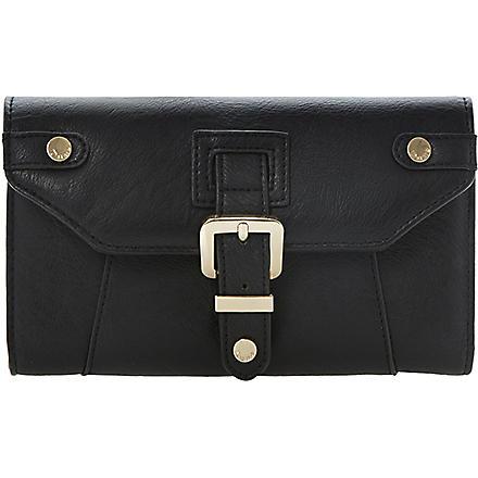 DUNE Kbucks faux-leather wallet (Black-synthetic