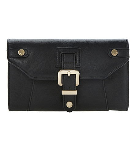 DUNE Kbucks faux-leather wallet (Black-synthetic