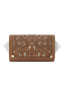 DUNE Khloes laser-cut winged purse