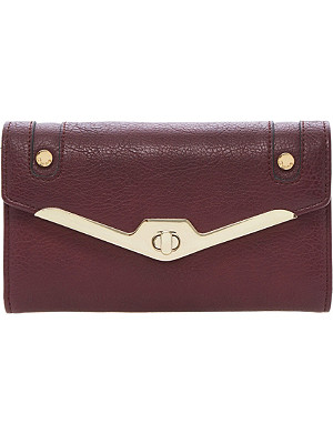DUNE Kristen turnlock faux-leather envelope purse