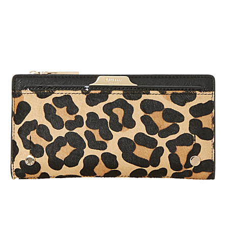 DUNE Kerrie leopard print pony purse (Leopard-pony