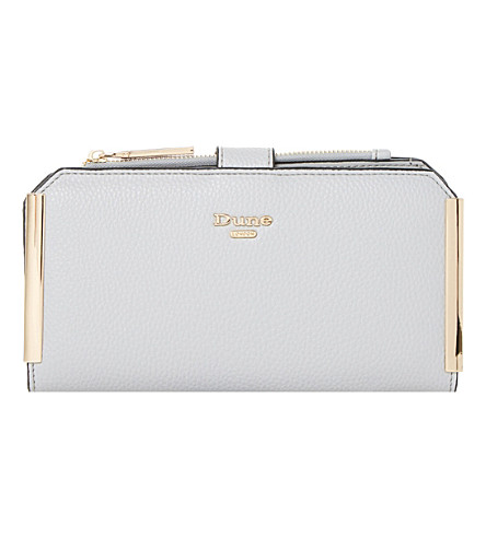 DUNE Kassia gold trim purse (Grey-synthetic
