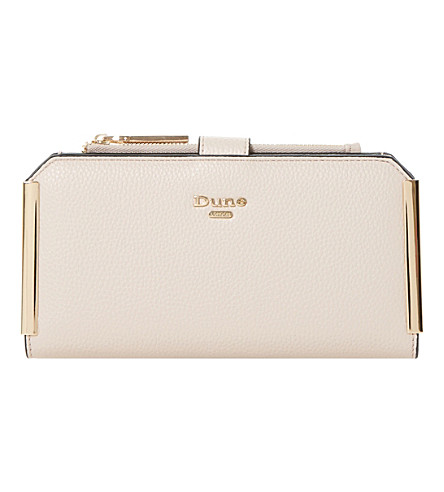 DUNE Kassia gold trim purse (Blush-synthetic