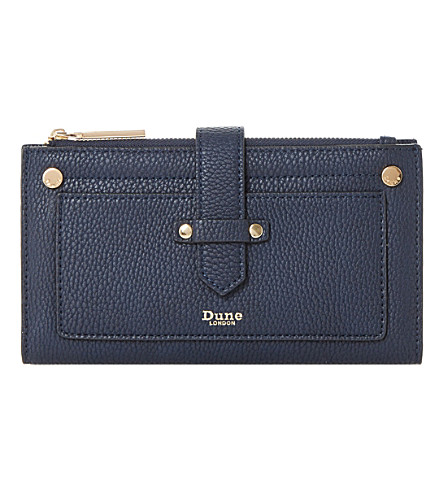 DUNE Kauna strap purse (Navy-plain+synthetic