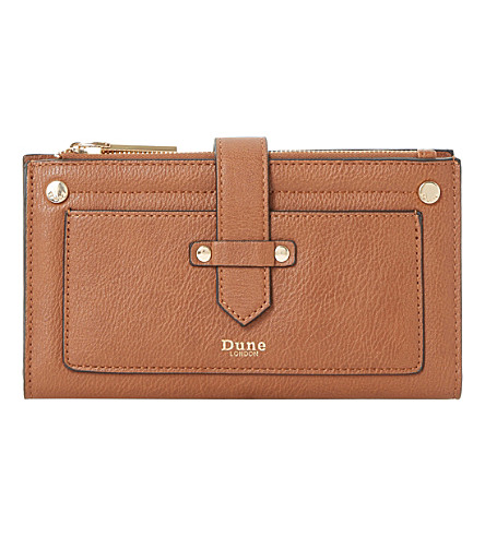 DUNE Kauna strap purse (Tan-synthetic
